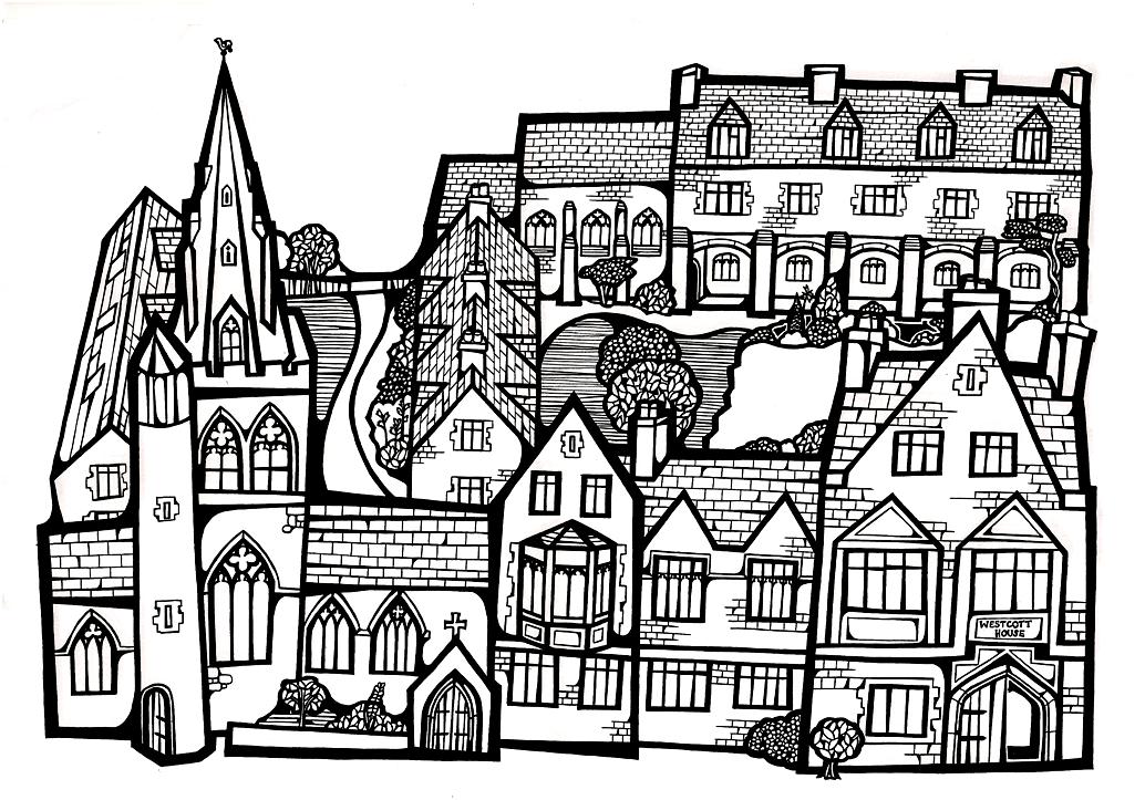 Westcott House Clip Art | Owen James Dobson - Liturgical Artist